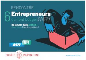 Vœux 2020 : Rencontrez 6 entrepreneurs qui font bouger #WB1170 @ Maison Haute | Watermael-Boitsfort | Bruxelles | Belgique